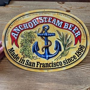 🍺 Anchor Steam Beer Sign